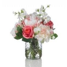 Fresh Flower Arrangement in Vase $70