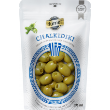 Olives Dumet - Chalkidiki Jalapeno (375 ml pouch)