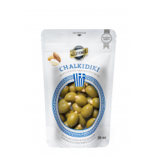 Dumet Olives - Chalkidiki Almond (375 ml pouch)