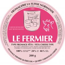 Fromagerie la Suisse Normande -Feta Fermier (goat, priced each)